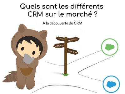 Quels sont les différents CRM sur le marché ?  [A la découverte du CRM : 3/5]