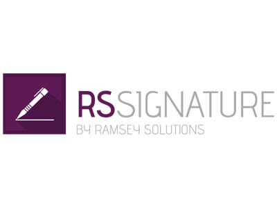 Logo rssignature by ramsey solutions