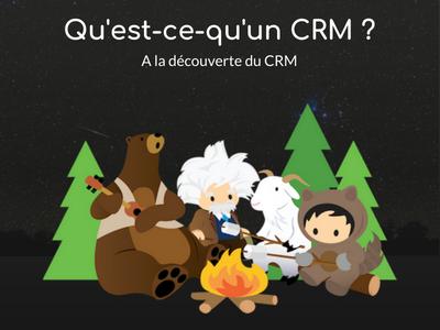 Qu'est-ce qu'un CRM ? [A la découverte du CRM : 1/4]