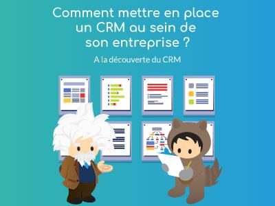 Comment mettre en place un CRM au sein de son entreprise ? [A la découverte du CRM : 4/5]